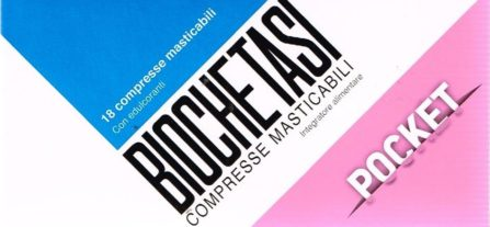 biochetasi compresse masticabili