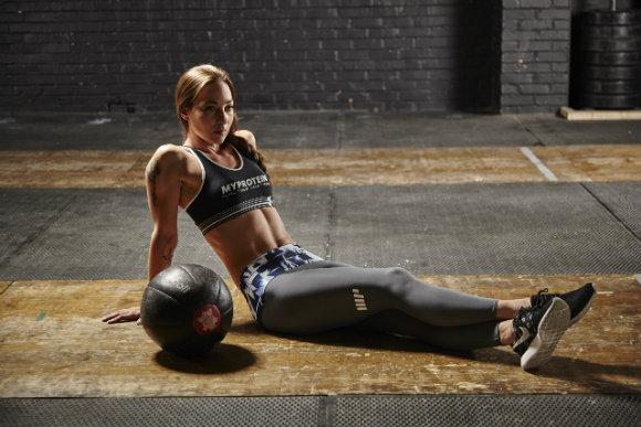 allenamento forza per donna