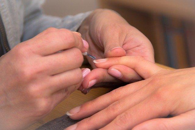 nail art zebrata